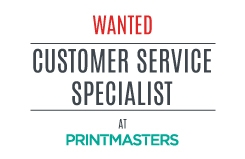 Customer Service Specialist Wanted
