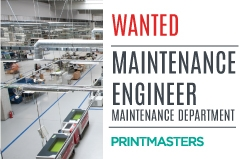 Maintenance Engineer Wanted