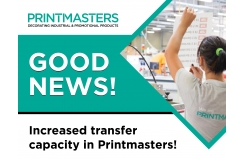 Good news! Increased transfer capacity in Printmasters!